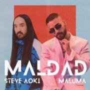 دانلود آهنگ Maldad از مالوما (Maluma) و Steve Aoki با متن