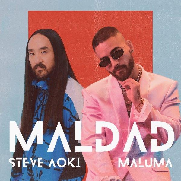 Maluma Maldad دانلود آهنگ Maldad از مالوما (Maluma) و Steve Aoki با متن