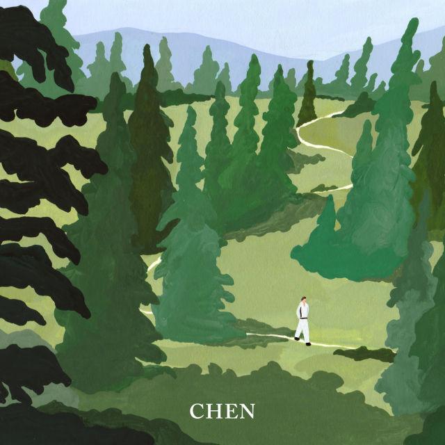 Chen Album Pic 88777 دانلود آلبوم April And A Flower از Chen با کیفیت اصلی