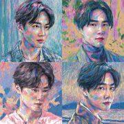 دانلود آلبوم Self-Portrait از سوهو اکسو (Suho EXO) با کیفیت اصلی
