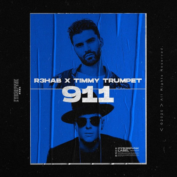 911 Cover 8877 دانلود آهنگ 911 از R3HAB & Timmy Trumpet با کیفیت اصلی و متن