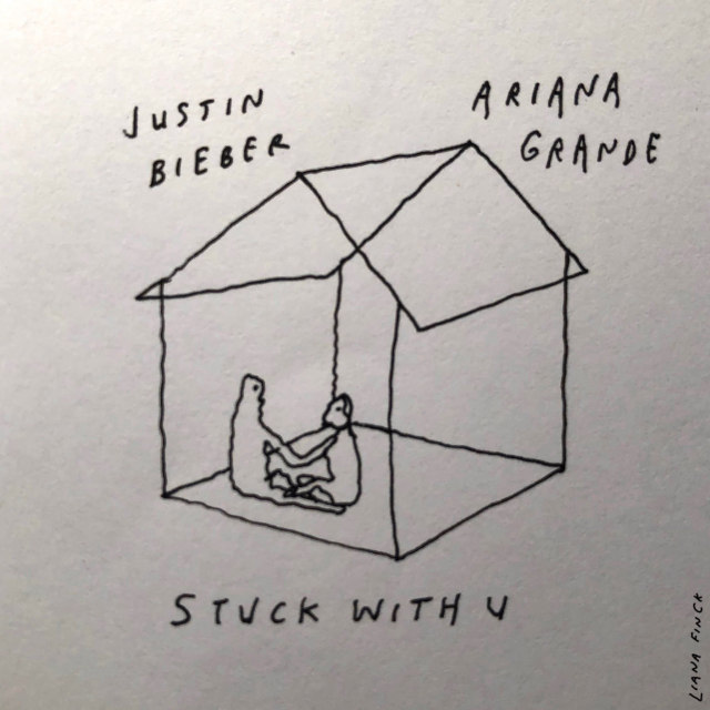 Justin Bieber & Ariana Grande - Stuck With You