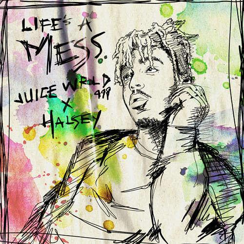 Juice WRLD ft. Halsey Cover 6666 1 دانلود آهنگ Lifes A Mess از هالزی و جویس ورلد Juice WRLD ft. Halsey