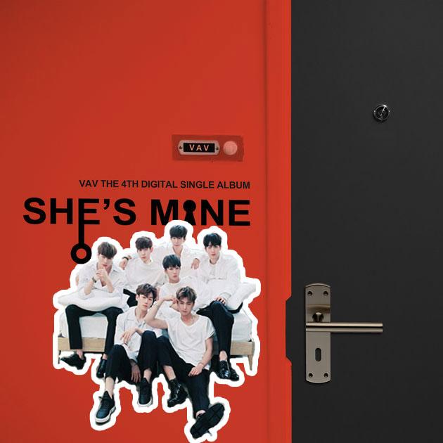 VAV Cover 7778 1 1 دانلود آهنگ Shes Mine از VAV با کیفیت اصلی و متن