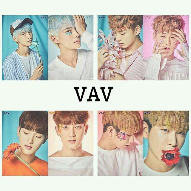 VAV Flower 1 دانلود آهنگ Flower (You) از VAV با کیفیت اصلی و متن