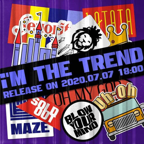 iM THE TREND Cover 99877 1 دانلود آهنگ iM THE TREND از گروه جی آیدل (G)I DLE با متن