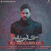 دانلود آهنگ ستاره ی دنباله دار علی عبدالمالکی با کیفیت اصلی و متن